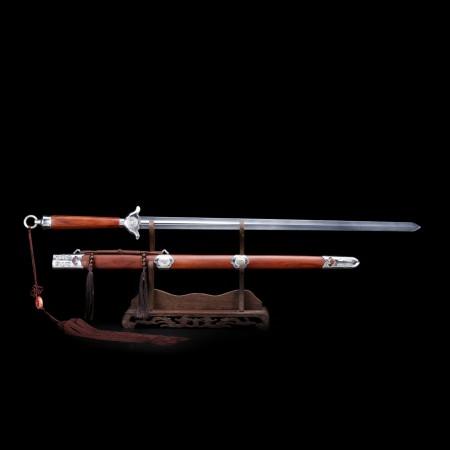 Handmade Rosewood Full Tang Stainless Steet Training Tai Chi Sword Chinese Sword